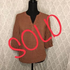 ‼️SOLD‼️Willi Smith Blouse